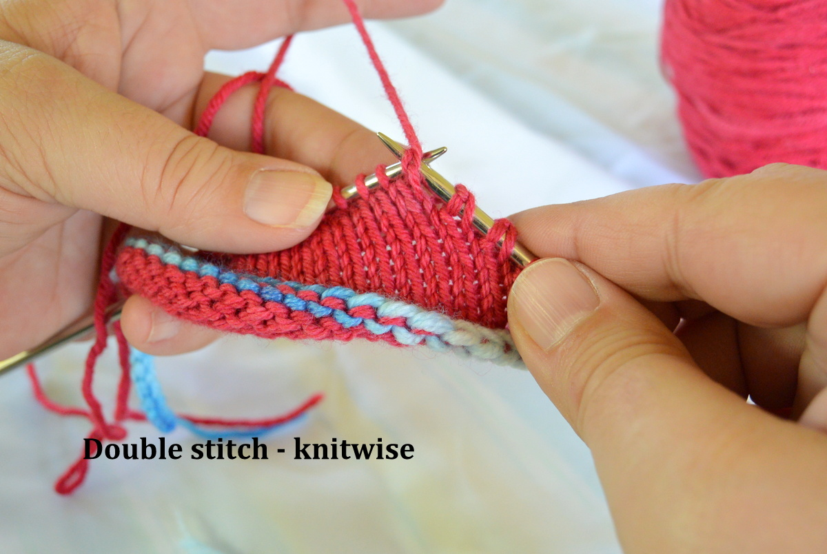 Double stitch - knitwise