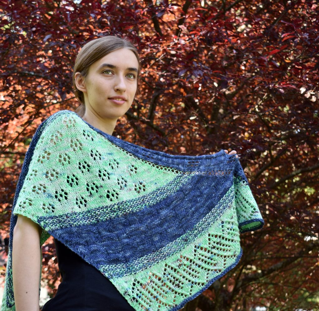Pan-dimensional surfboard shawl photo 1